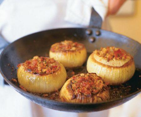 Ricetta: Cipolle con ripieno alla grappa