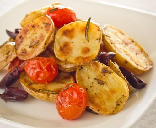 Ricetta: Patate piccanti al pomodoro