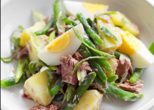 Ricetta: Insalata di tonno, uova e patate