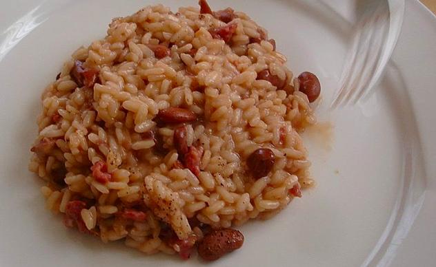 Ricetta: La panissa (risotto alla vercellese)