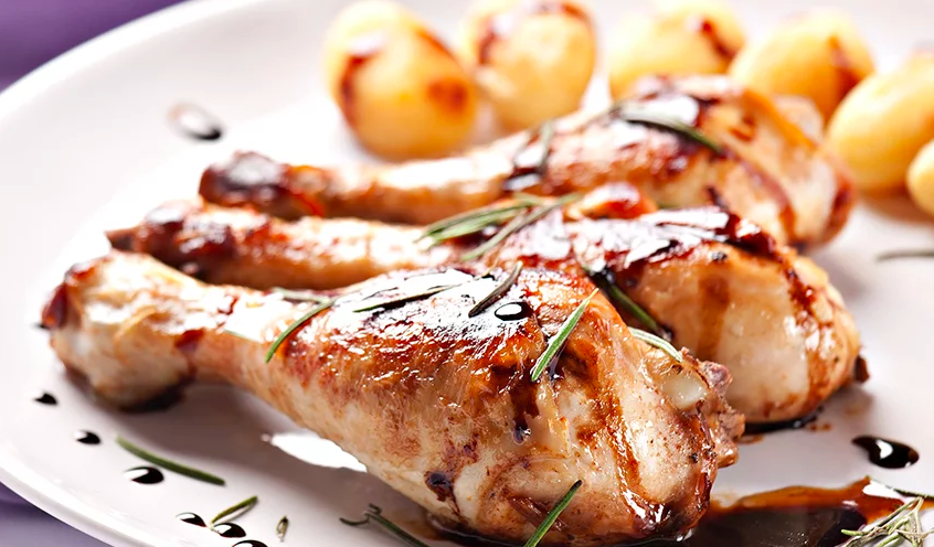 Ricetta: Cosce di pollo caramellate all'aceto balsamico