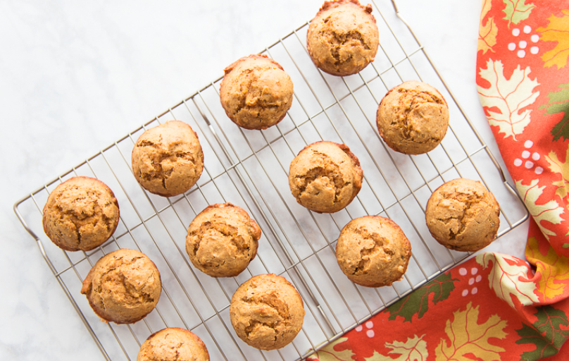 Ricetta: Muffin con cachi e noci